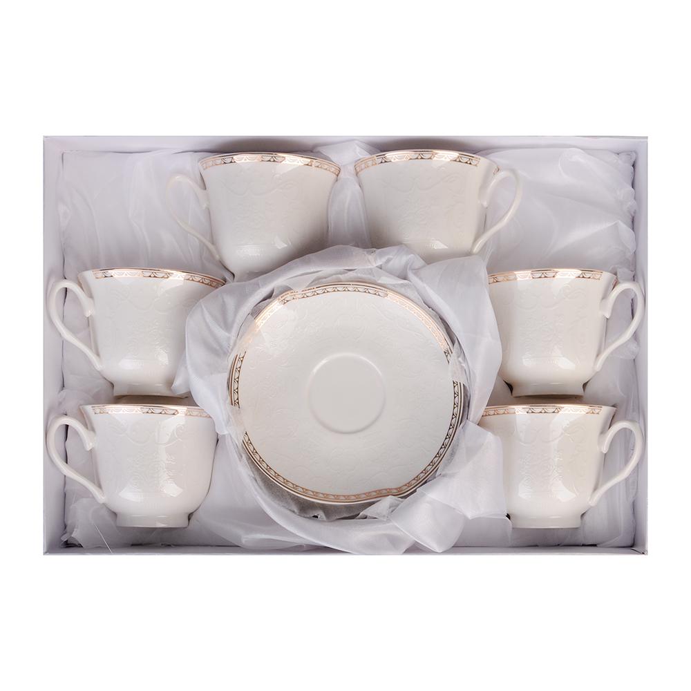 MILLIMI Анжелика Набор чайный 12 пр., 250мл, костяной фарфор - 2