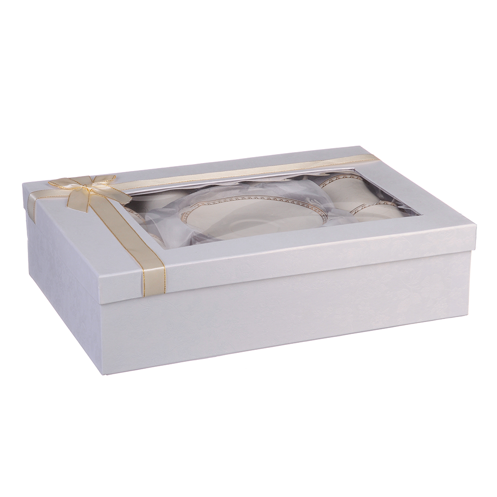 MILLIMI Анжелика Набор чайный 12 пр., 250мл, костяной фарфор - 3