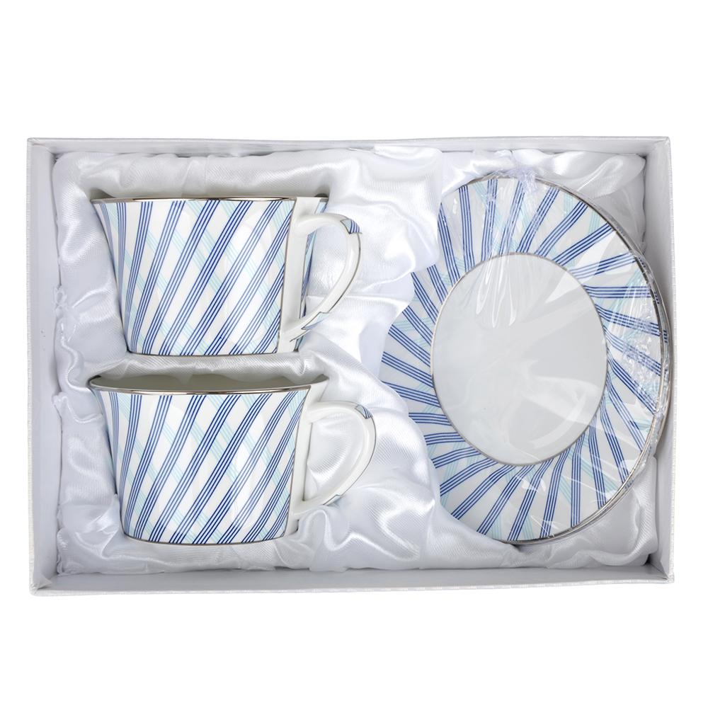 MILLIMI Лазурит Набор чайный 4 пр., 270мл, костяной фарфор - 2