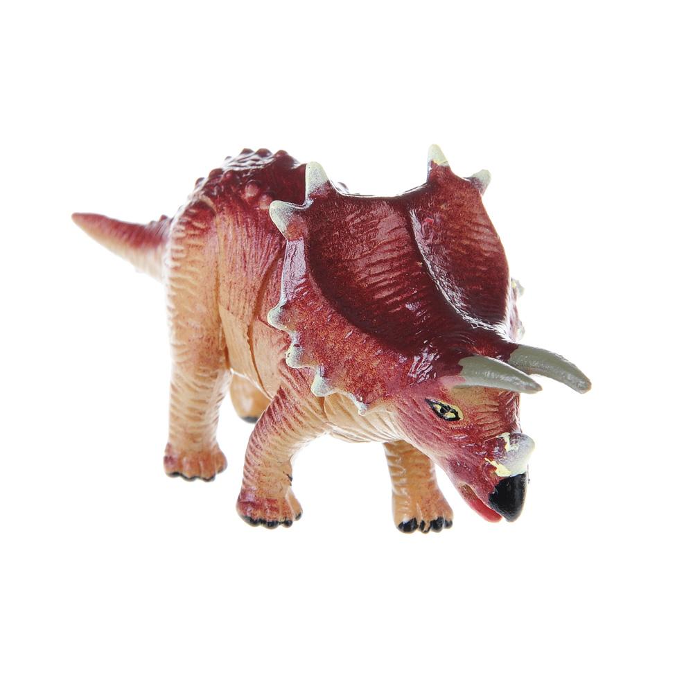 """ИГРОЛЕНД Фигурка-пазл """"Динозавр"""", коллекционная, 6-10см, в пакете,10х14х4см, пластик, 7-28 деталей - 2"""