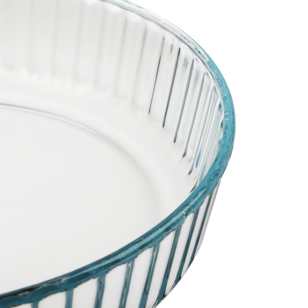 Форма для запекания жаропрочная SATOSHI, рельефный бортик, стекло - 2