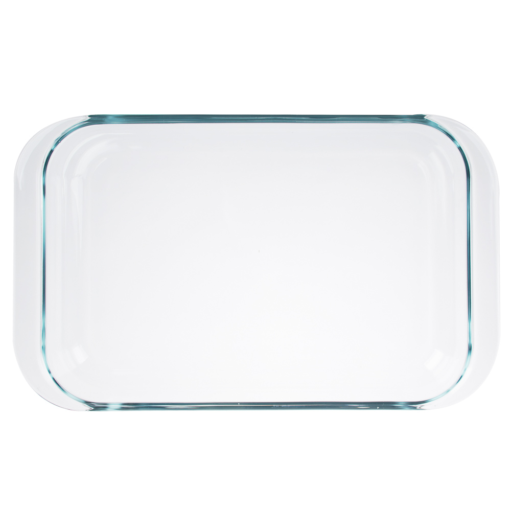 Форма для запекания жаропрочная 3,5 л SATOSHI, 39х24х6 см, стекло - 2