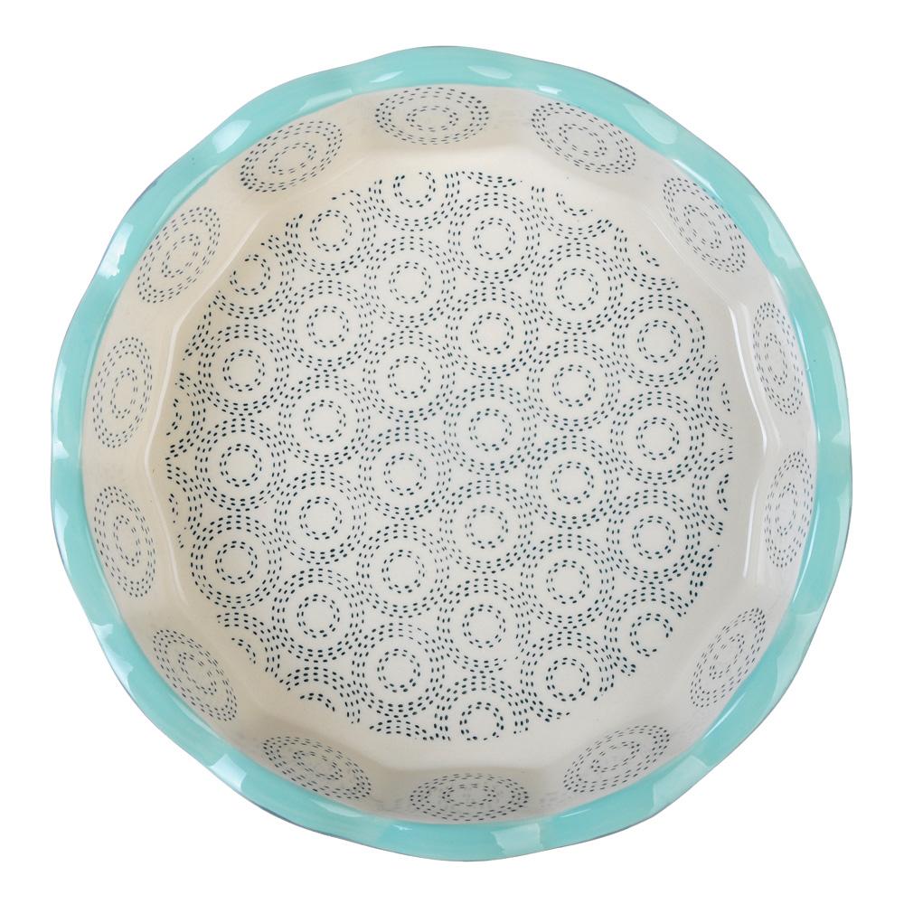 Форма для запекания MILLIMI, d. 22 см, круглая, керамика, аквамарин - 2