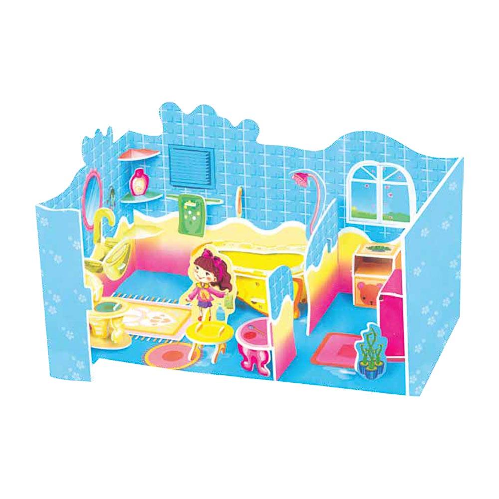 """ХОББИХИТ 3D-пазл """"Домик"""", вспененный полимер, картон, 4 дизайна - 4"""