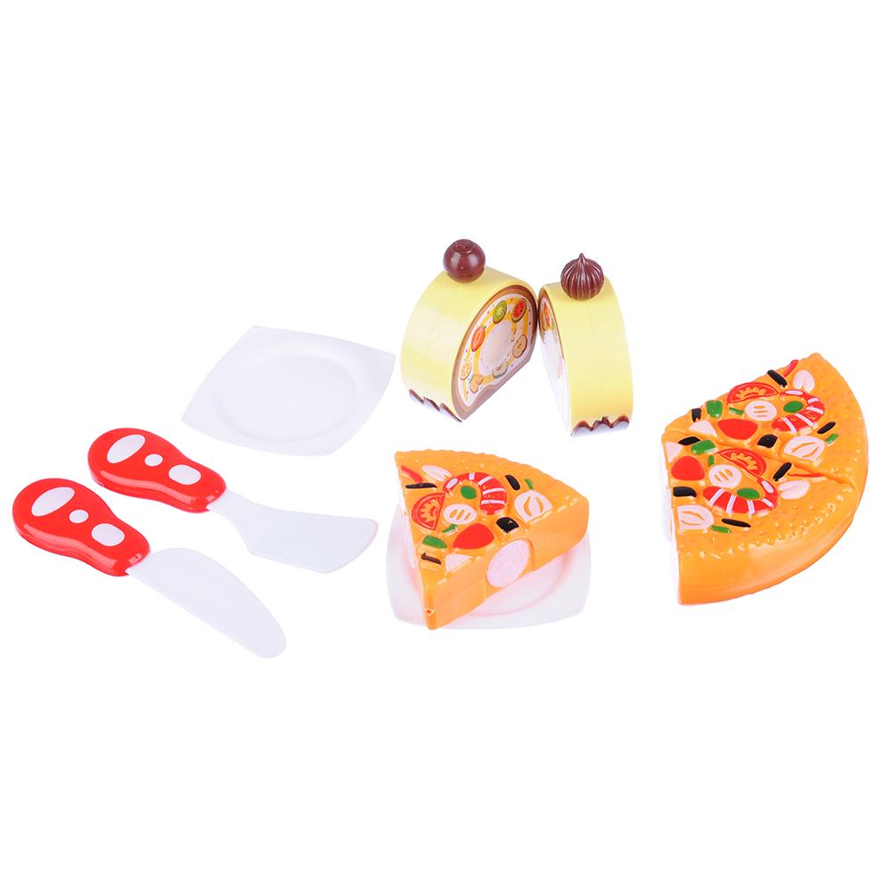 ИГРОЛЕНД Набор в виде пиццы для резки, 7пр., пластик, 17х18х5см, 6 дизайнов - 2