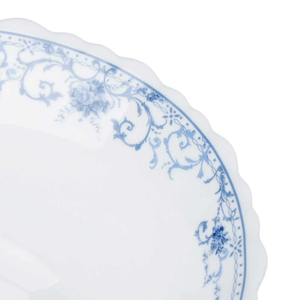 """Салатник d. 23 см, опаловое стекло, MILLIMI """"Ариадна"""" - 3"""