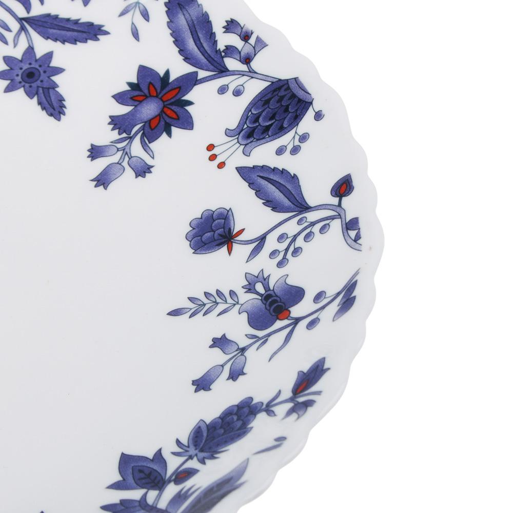 """Тарелка десертная d. 21,5 см, опаловое стекло, MILLIMI """"Таис"""" - 2"""