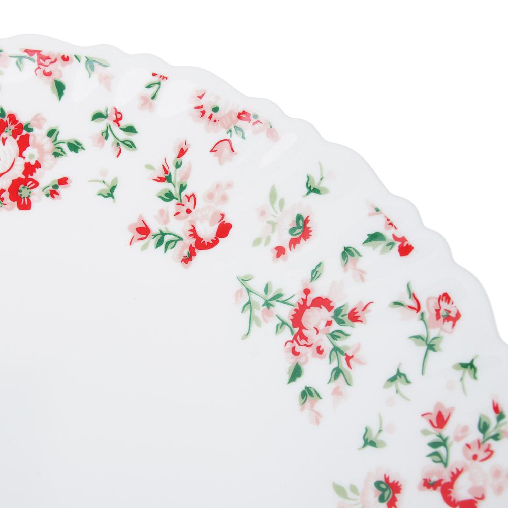"""Тарелка десертная d. 21,5 см, опаловое стекло, MILLIMI """"Майя"""" - 2"""