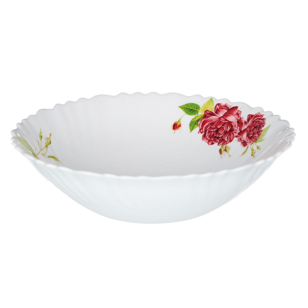 """Набор столовой посуды 13 предметов, опаловое стекло, MILLIMI """"Инесса"""" - 2"""