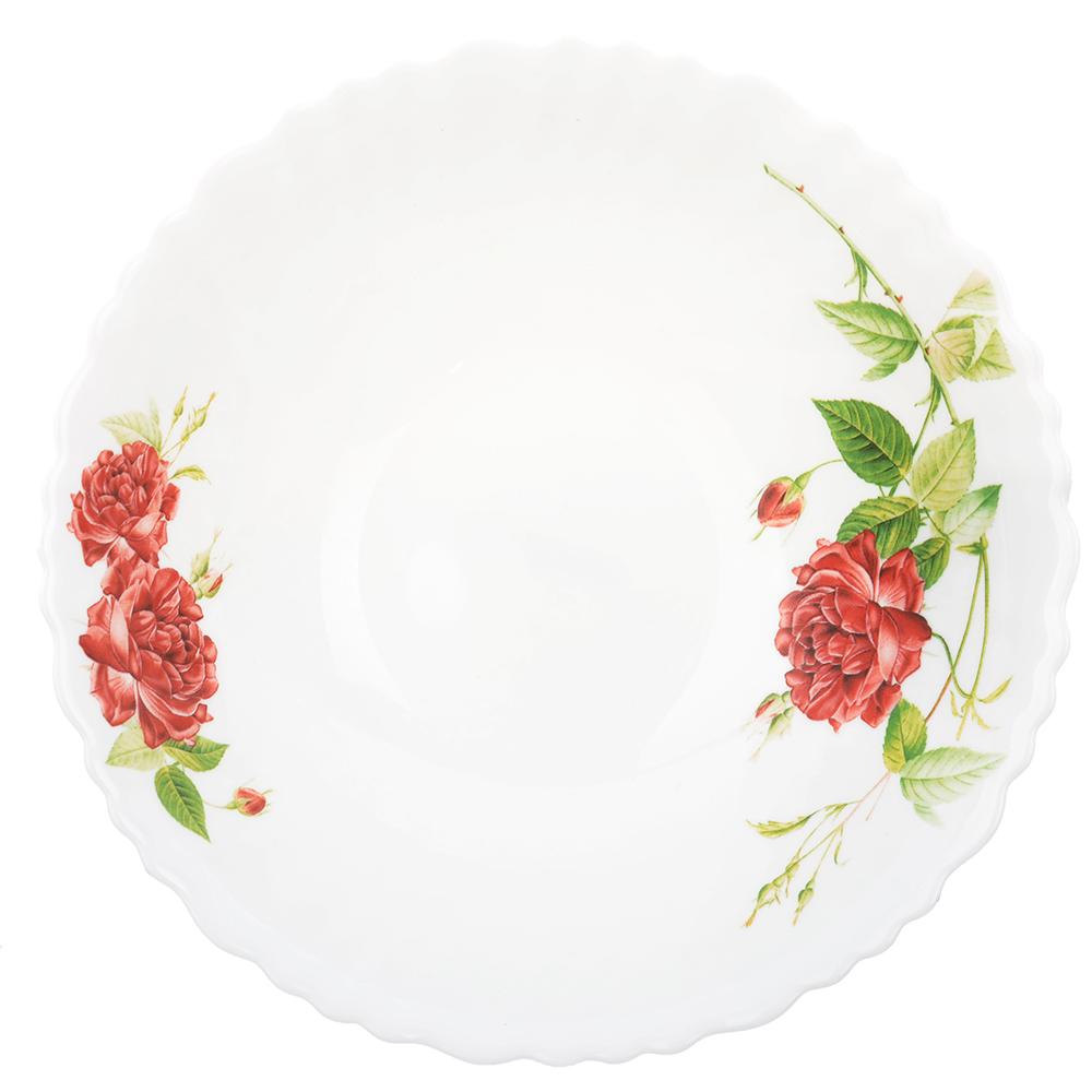 """Салатник d. 19 см, опаловое стекло, MILLIMI """"Инесса"""" - 2"""