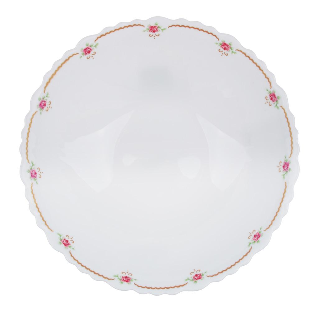 """Салатник d.19 см, опаловое стекло, MILLIMI """"Наяда"""" - 2"""