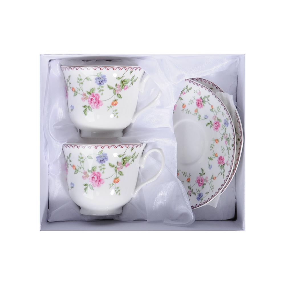 MILLIMI Утро Набор чайный 4 пр., 240мл, костяной фарфор - 2