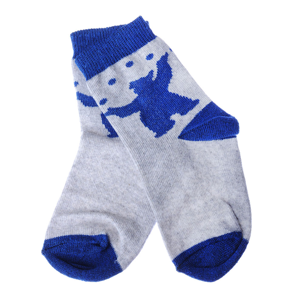 МАША И МЕДВЕДЬ Носки унисекс, 3-4 года, белый, серый - 2