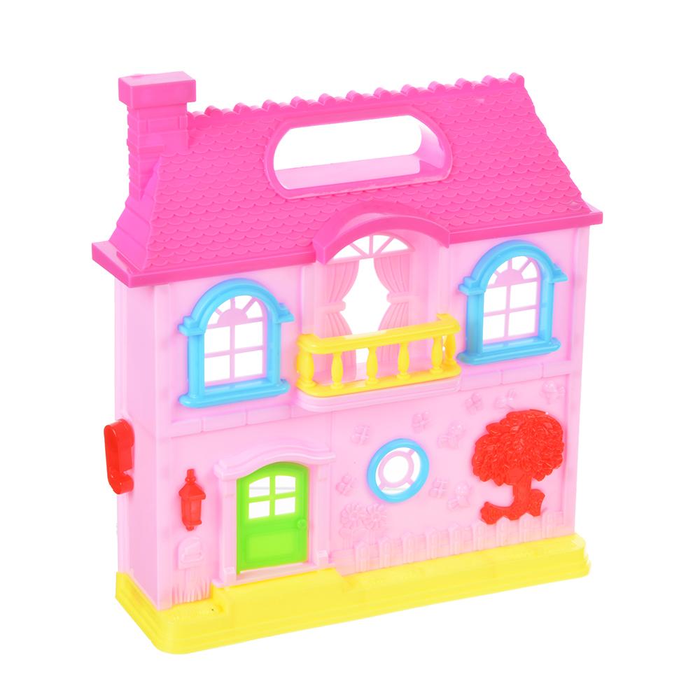 """Игровой набор """"Кукольный домик"""" с мебелью и аксесс., пластик, 39х22х6,5 см - 3"""