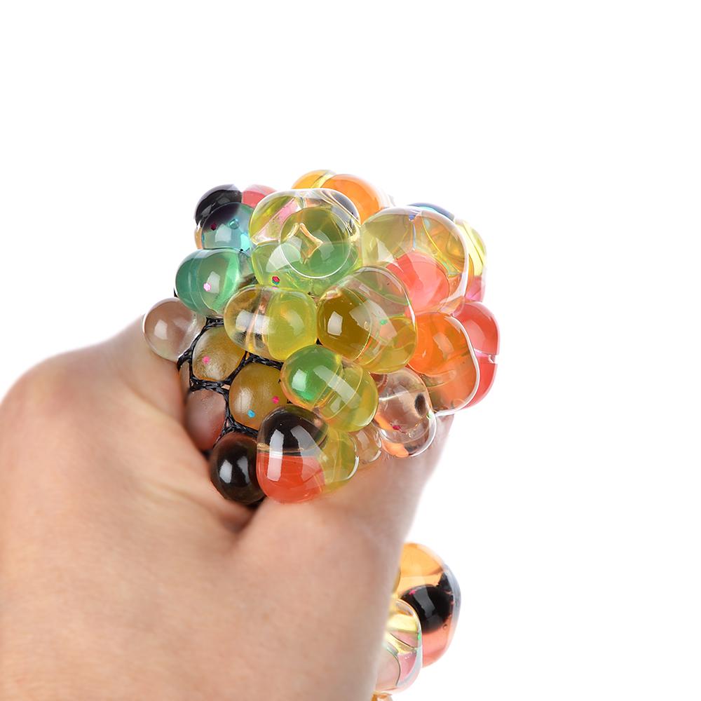 Мялка разноцветная, полимер, 6х6х6см - 2