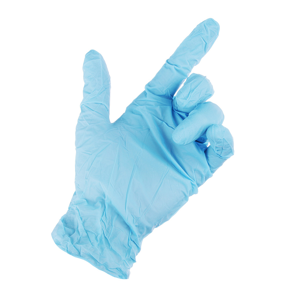 Перчатки нитриловые, 10 штук, VETTA - 3