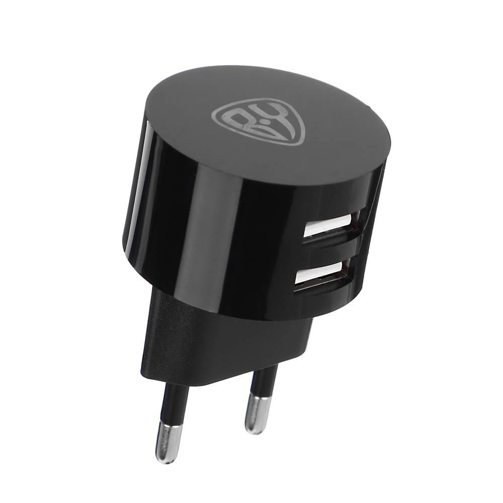Зарядное устройство FORZA BY USB Вертикальное, 220В, 2USB, 2А, пластик - 3