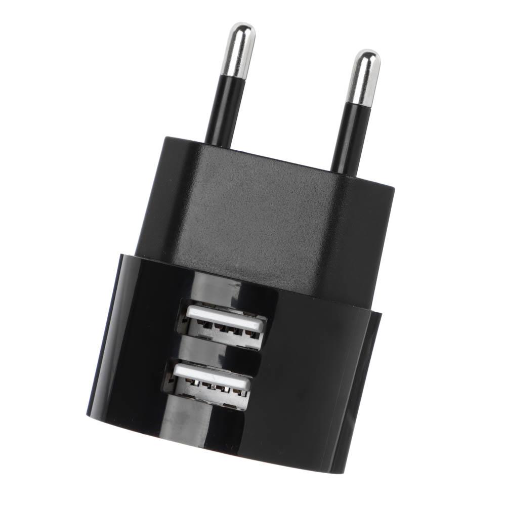 Зарядное устройство FORZA BY USB Вертикальное, 220В, 2USB, 2А, пластик - 4