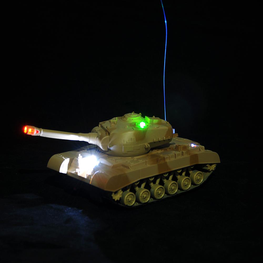 ИГРОЛЕНД Танк на радиоуправлении, движение, свет, звук, PP, 4+2 АА,24,5х12,5х14 см - 2