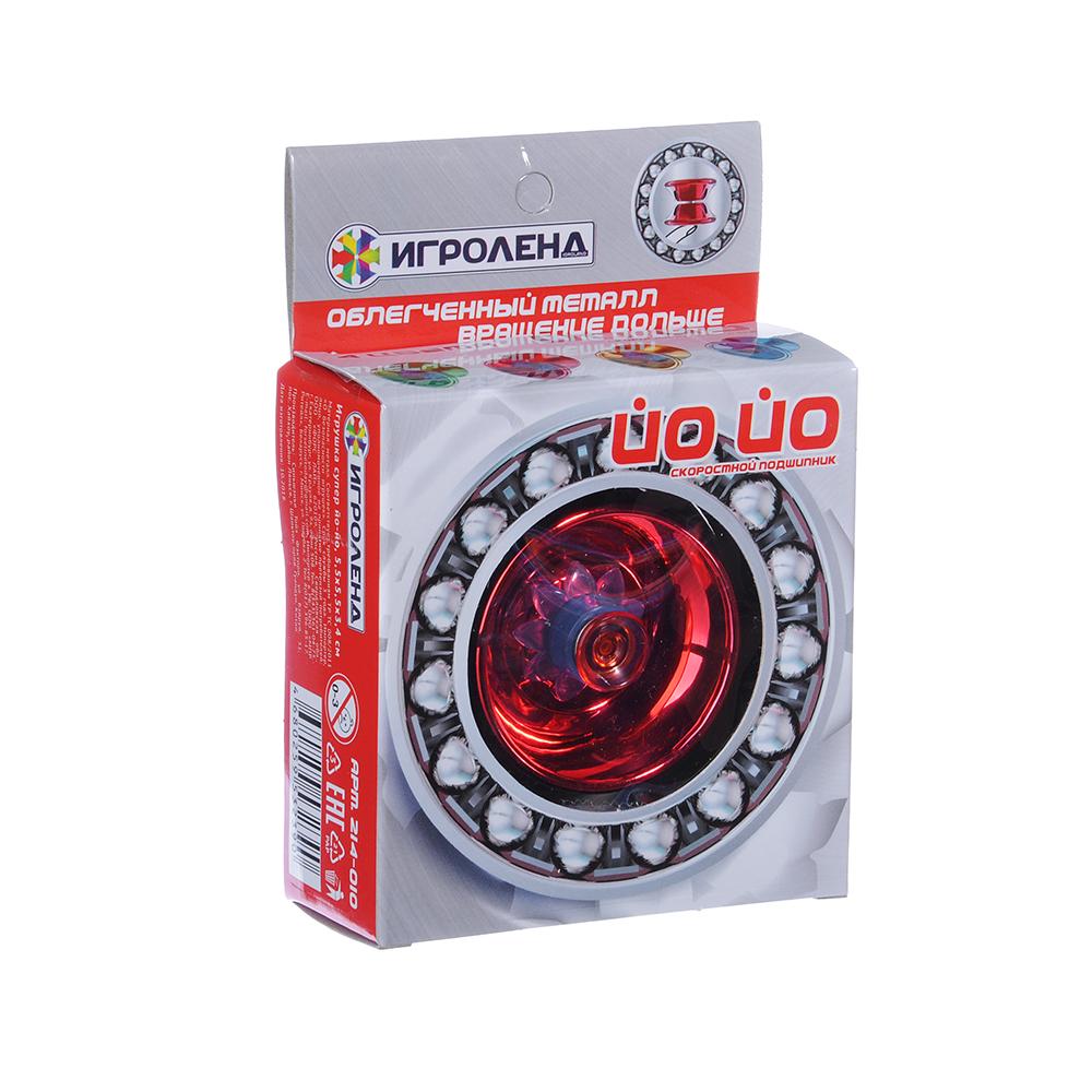 ИГРОЛЕНД Игрушка супер йо-йо, ABS, металл, 5,5х5,5х3,4см - 3