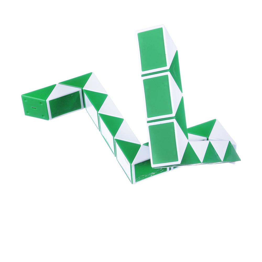 """ИГРОЛЕНД Головоломка """"Мир квадратов. Змейка лайт"""", PP, 10х6,7х2,4см, 3 цвета - 3"""