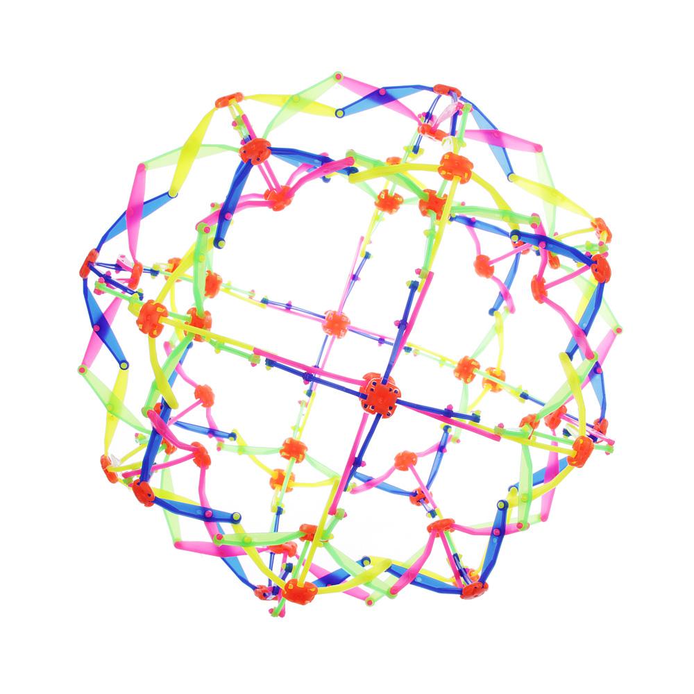 Игрушка в виде шара-трансформера, PP, 14см, разноцветная - 2