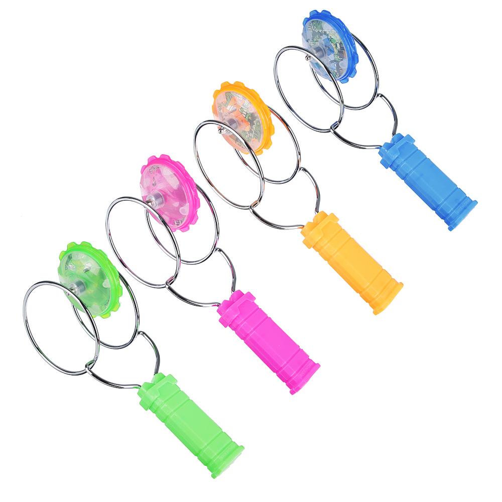 ИГРОЛЕНД Игрушка магнитная юла, магнит, металл, пластик, 25х10х8,5см, 2-4 цвета - 2