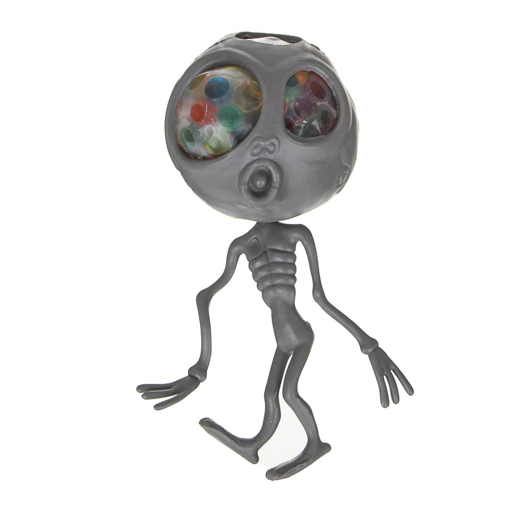 LASTIKS Мялка в виде пришельца, резина, 15см, 3 дизайна - 2