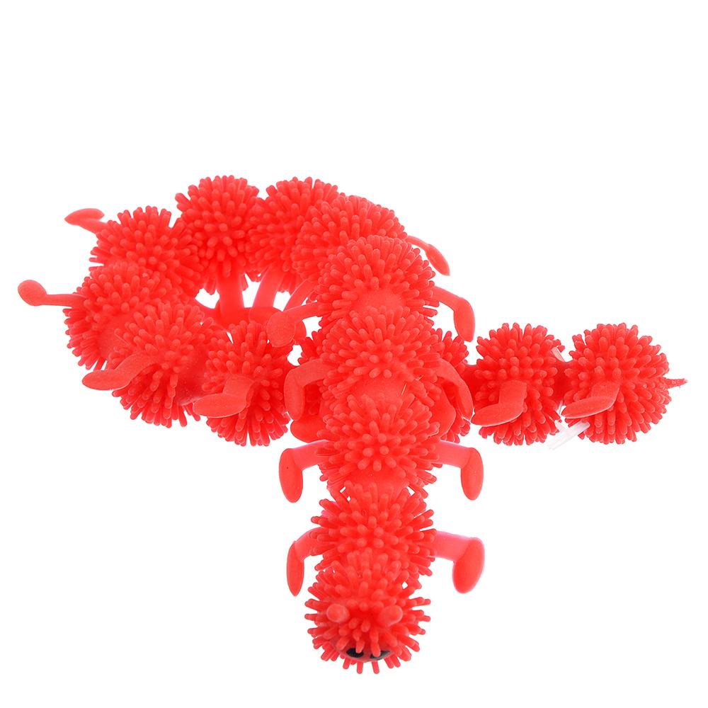 LASTIKS Гусеница резиновая 24см, TPR, 2х24х3,5см, 3-6 цветов - 3