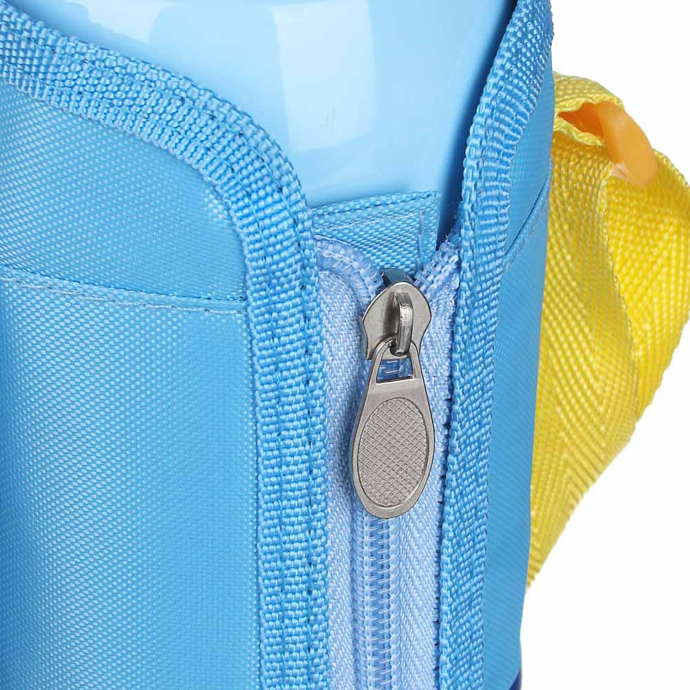Термос детский в чехле 500 мл, пластик/сталь 3 дизайна - 6