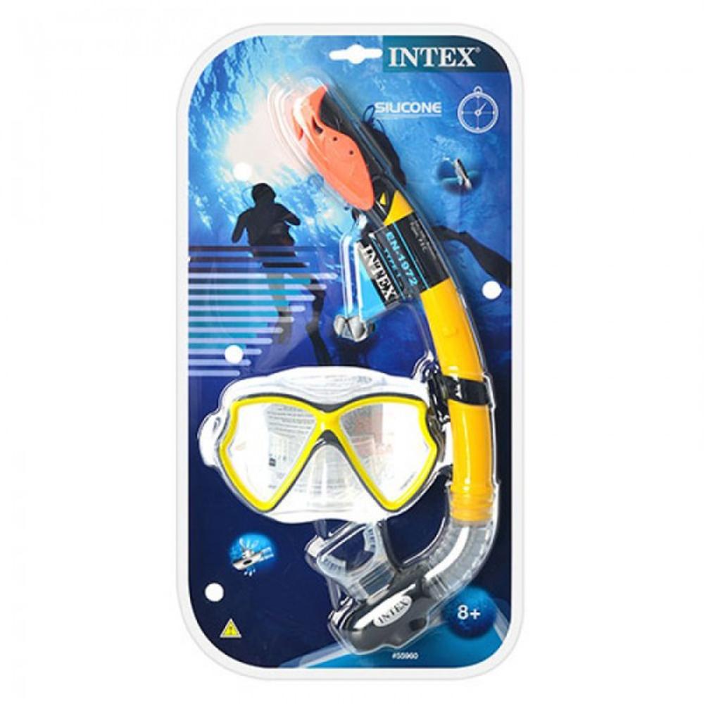 Набор для плавания INTEX 55647 (маска, трубка) от 14 лет - 2
