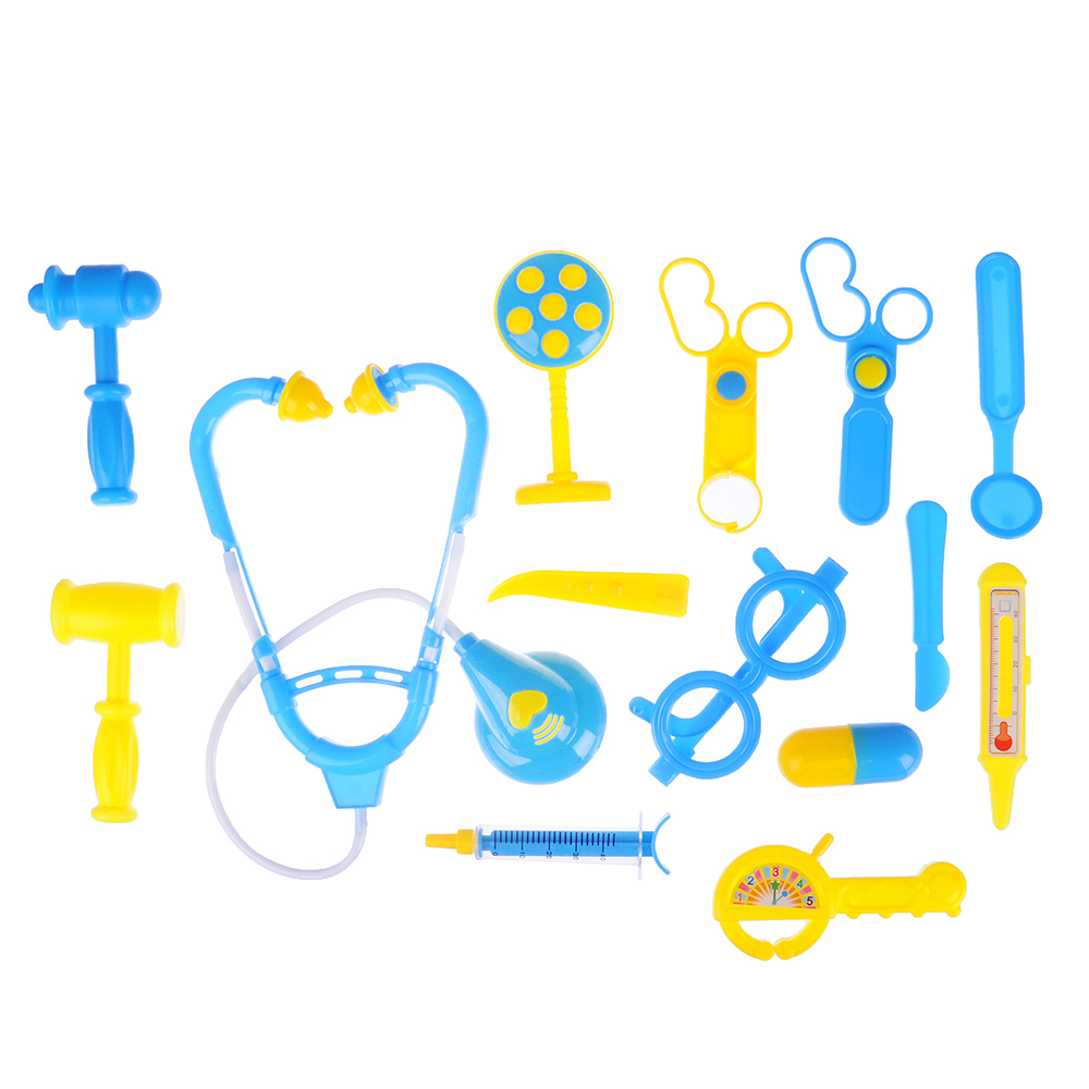 ИГРОЛЕНД Набор доктора в чемоданчике, 15 пр., PP ,PVC, 23х40х3,5 см, 2 цвета - 2