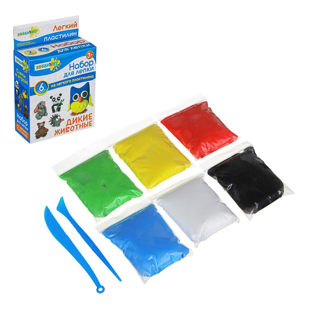 ХОББИХИТ Поделка из легкого пластилина, 35-40гр, полимер, 11х18,7х5см, 5 дизайнов - 3