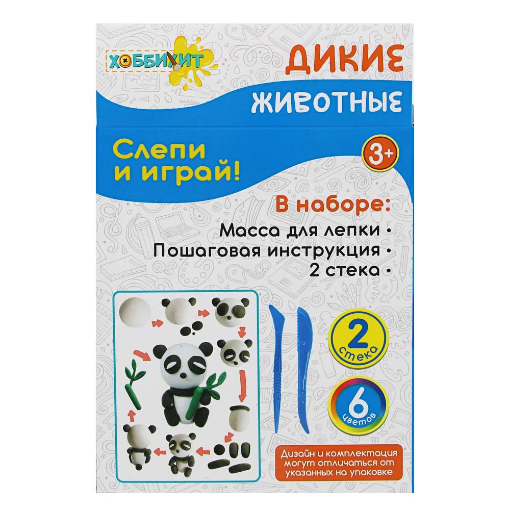 ХОББИХИТ Поделка из легкого пластилина, 35-40гр, полимер, 11х18,7х5см, 5 дизайнов - 4