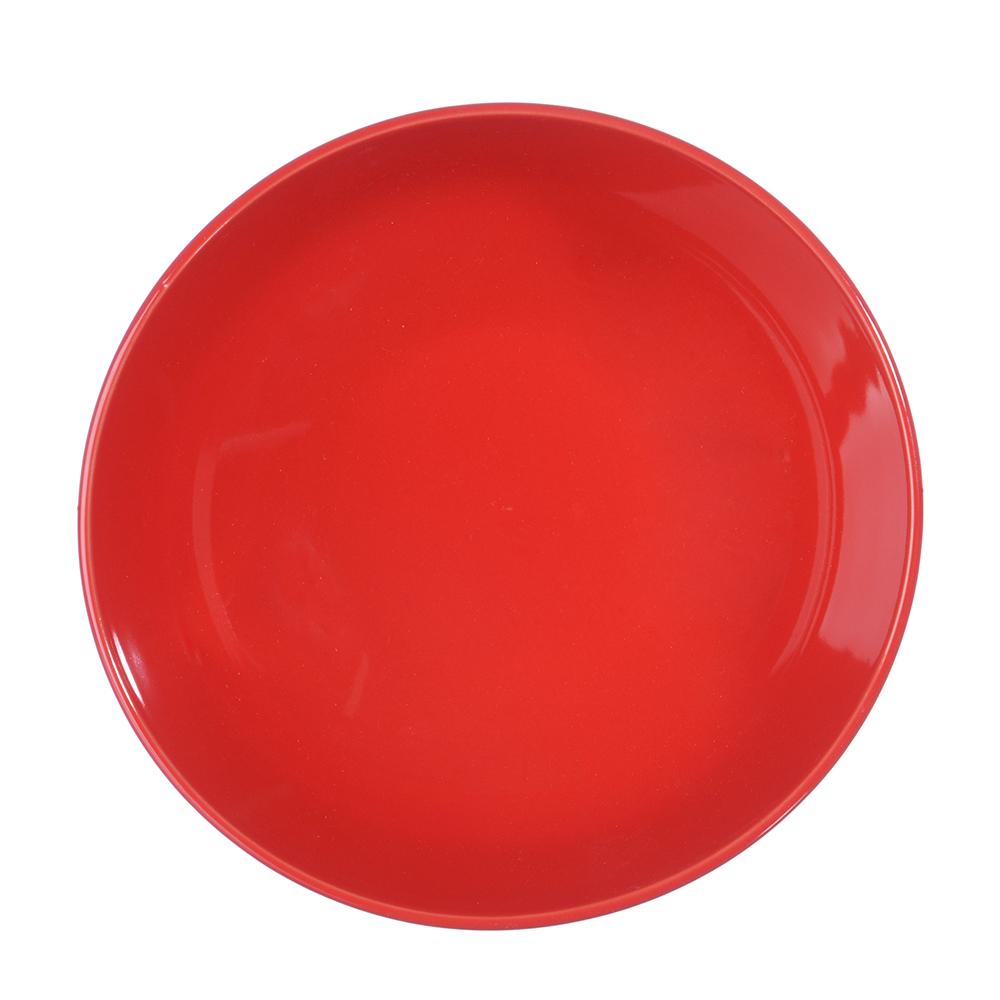 """Салатник d.17,5 см, керамика, красный, """"Глянец"""" - 2"""