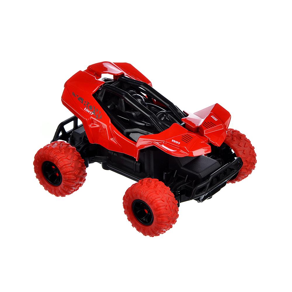 ИГРОЛЕНД Машинка инерционная, 1:36, пластик, металл, 11х8х5,5см, 4 дизайна - 6