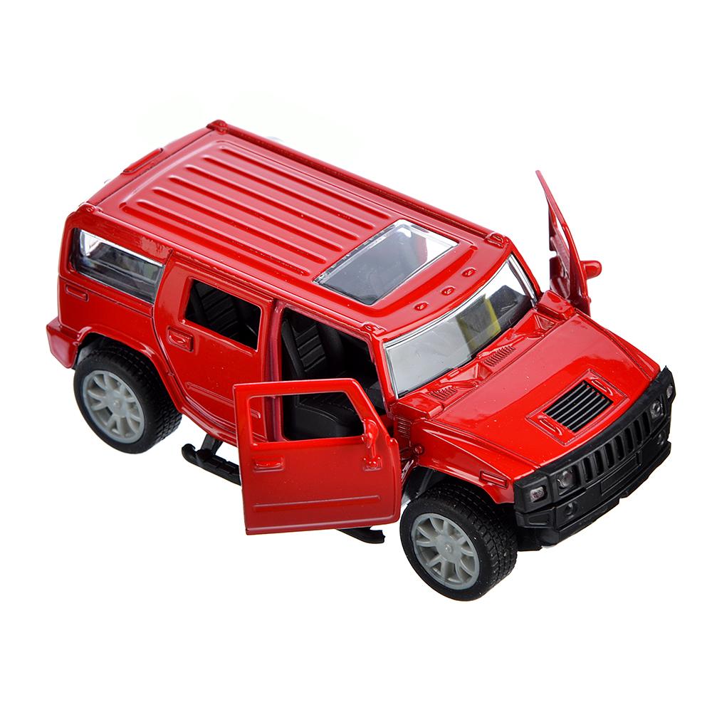 ИГРОЛЕНД Машинка инерционная, 1:32, металл, двери открываются, 12х5,5х5см, 3 дизайна - 2
