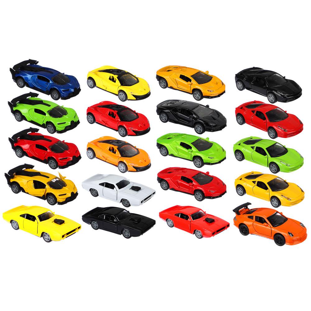 ИГРОЛЕНД Машинка инерционная, 1:32, аллюминий, двери открываются,12х6х4см, 6 дизайнов - 2