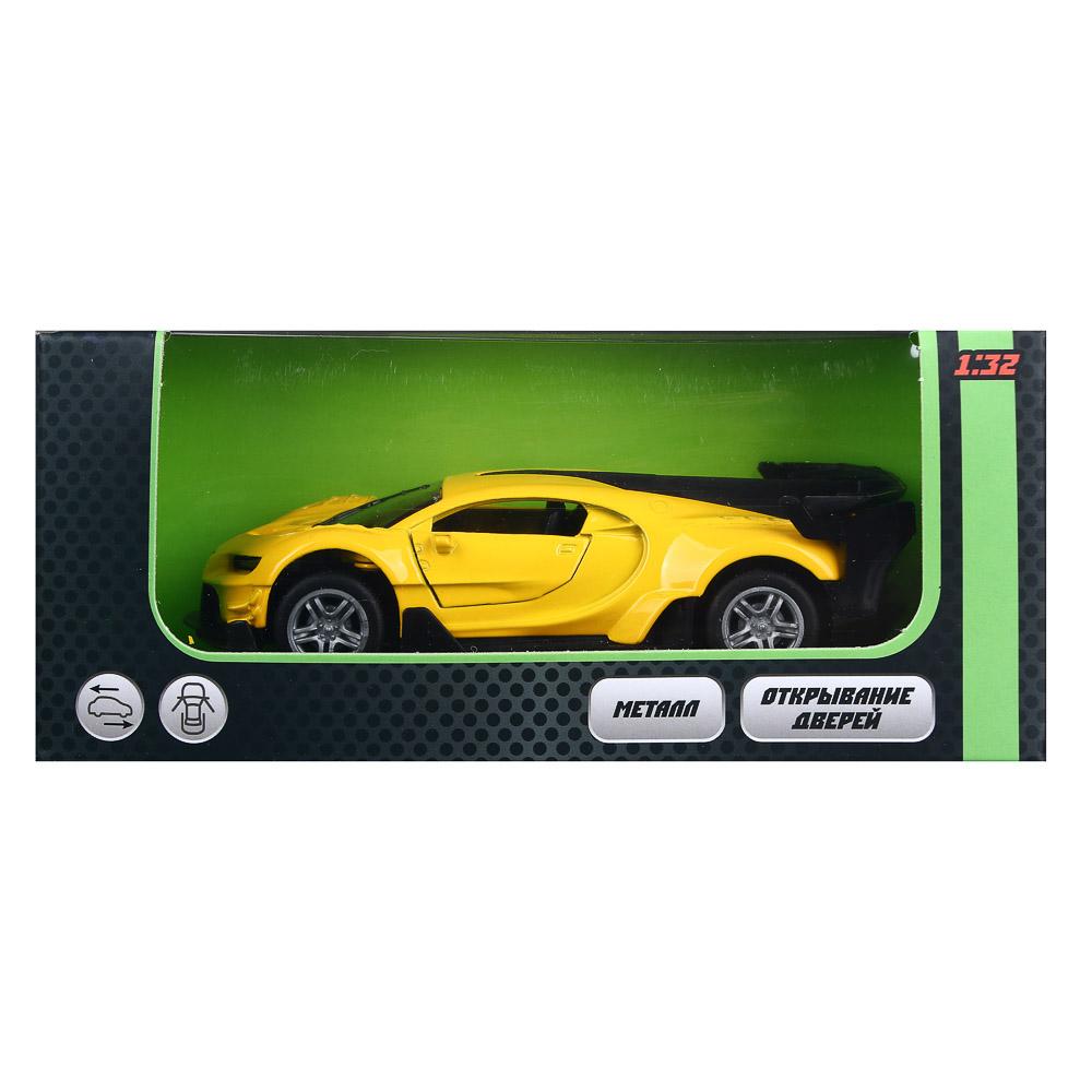 ИГРОЛЕНД Машинка инерционная, 1:32, аллюминий, двери открываются,12х6х4см, 6 дизайнов - 4