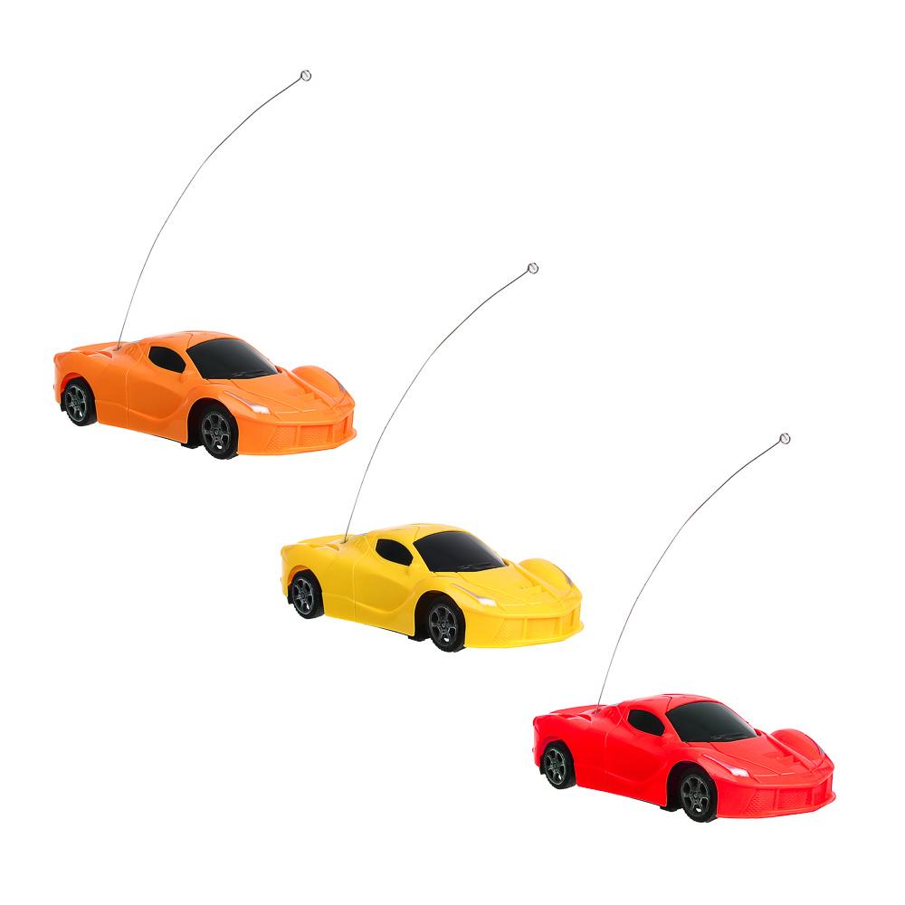 ИГРОЛЕНД Машинка на радиоуправлении ,1:24 ,1-канальный пульт, PP, 5АА,18х10х5 см, 2 цвета - 2