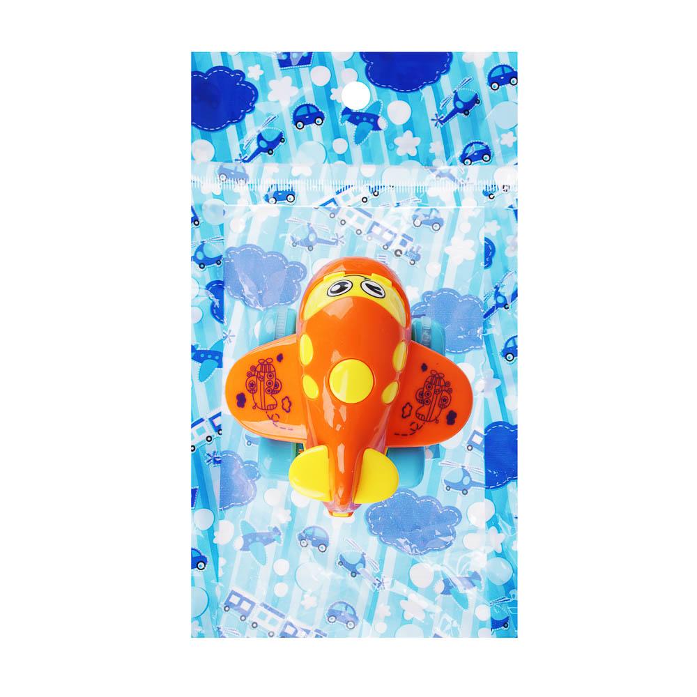 """МЕШОК ПОДАРКОВ Машинка инерционная """"Самолет"""", пластик, 12,5х19,5х6см, 4 дизайна, 100794564 - 4"""
