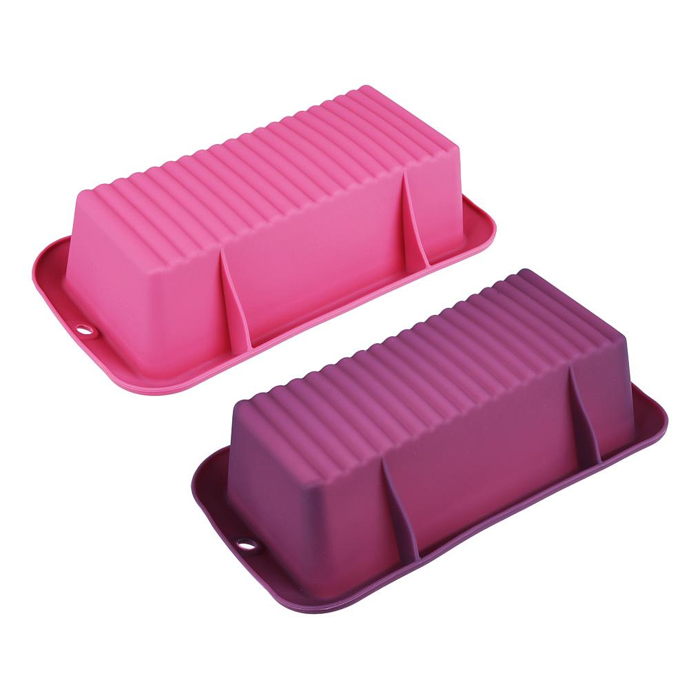 Форма для выпечки хлеба SATOSHI Алион 23,8x12,7х6,2см, силикон - 2