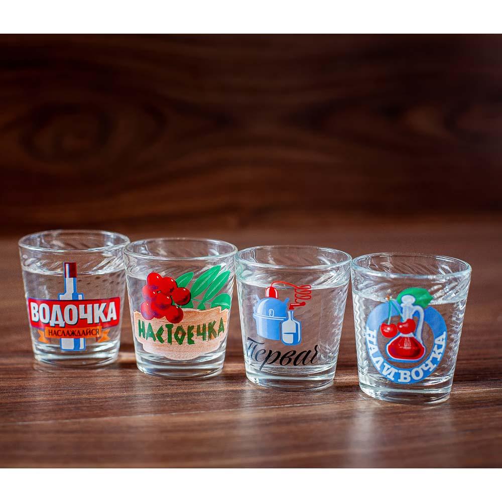 Набор для водки 7 предметов, стекло - 11