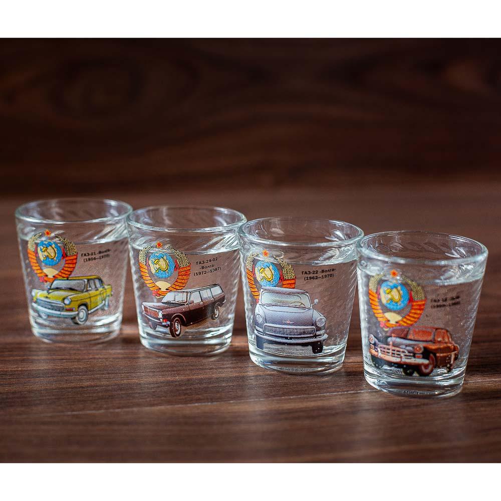 Набор для водки 7 предметов, стекло - 5