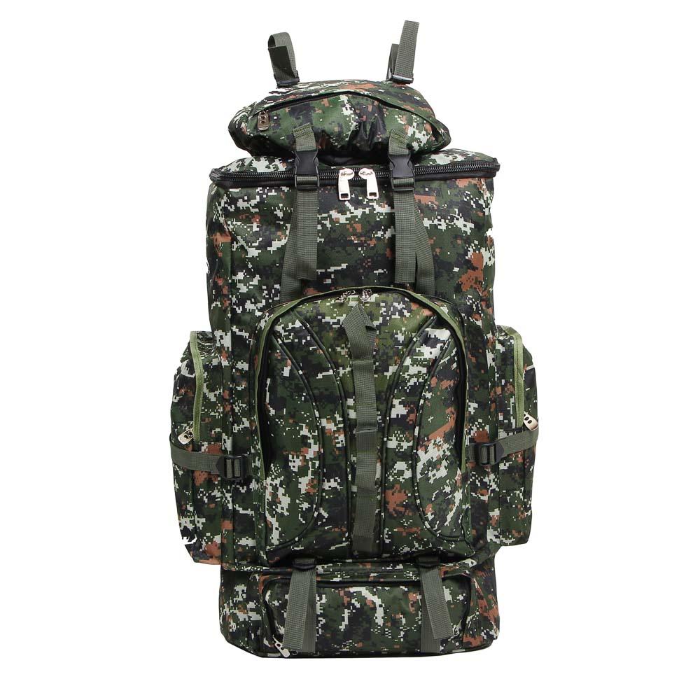 Рюкзак туристический ЧИНГИСХАН отделение для палатки, 65 литров,80х35х18 см, полиэстер - 2