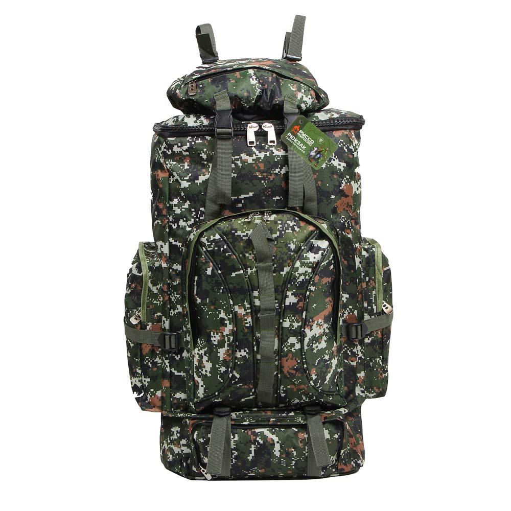 Рюкзак туристический ЧИНГИСХАН отделение для палатки, 65 литров,80х35х18 см, полиэстер - 5