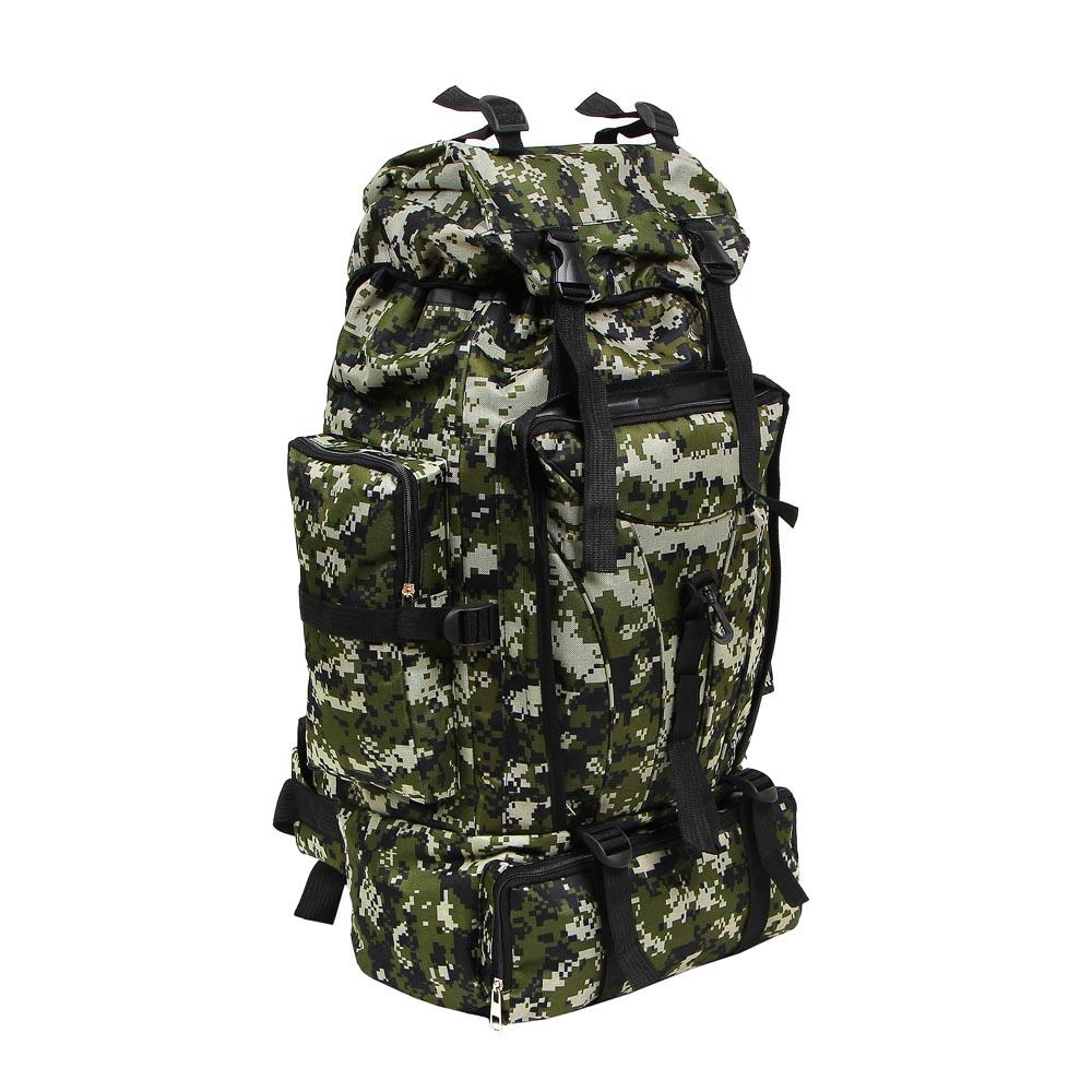 Рюкзак туристический ЧИНГИСХАН отделение для палатки, 60 литров,70х35х18 см, полиэстер - 2