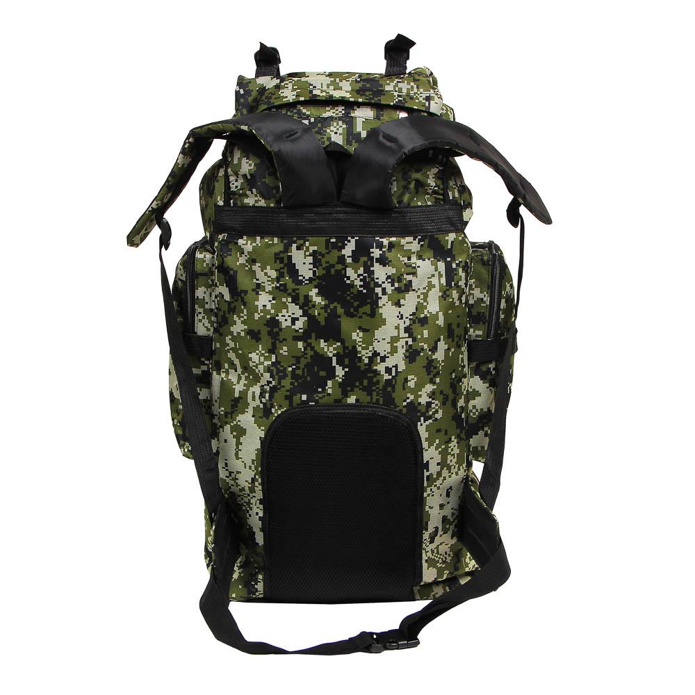 Рюкзак туристический ЧИНГИСХАН отделение для палатки, 60 литров,70х35х18 см, полиэстер - 4