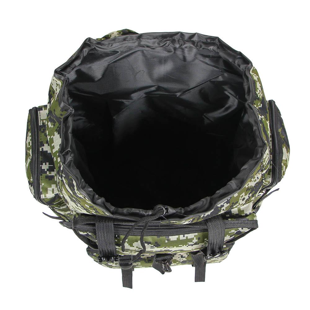 Рюкзак туристический ЧИНГИСХАН отделение для палатки, 60 литров,70х35х18 см, полиэстер - 5