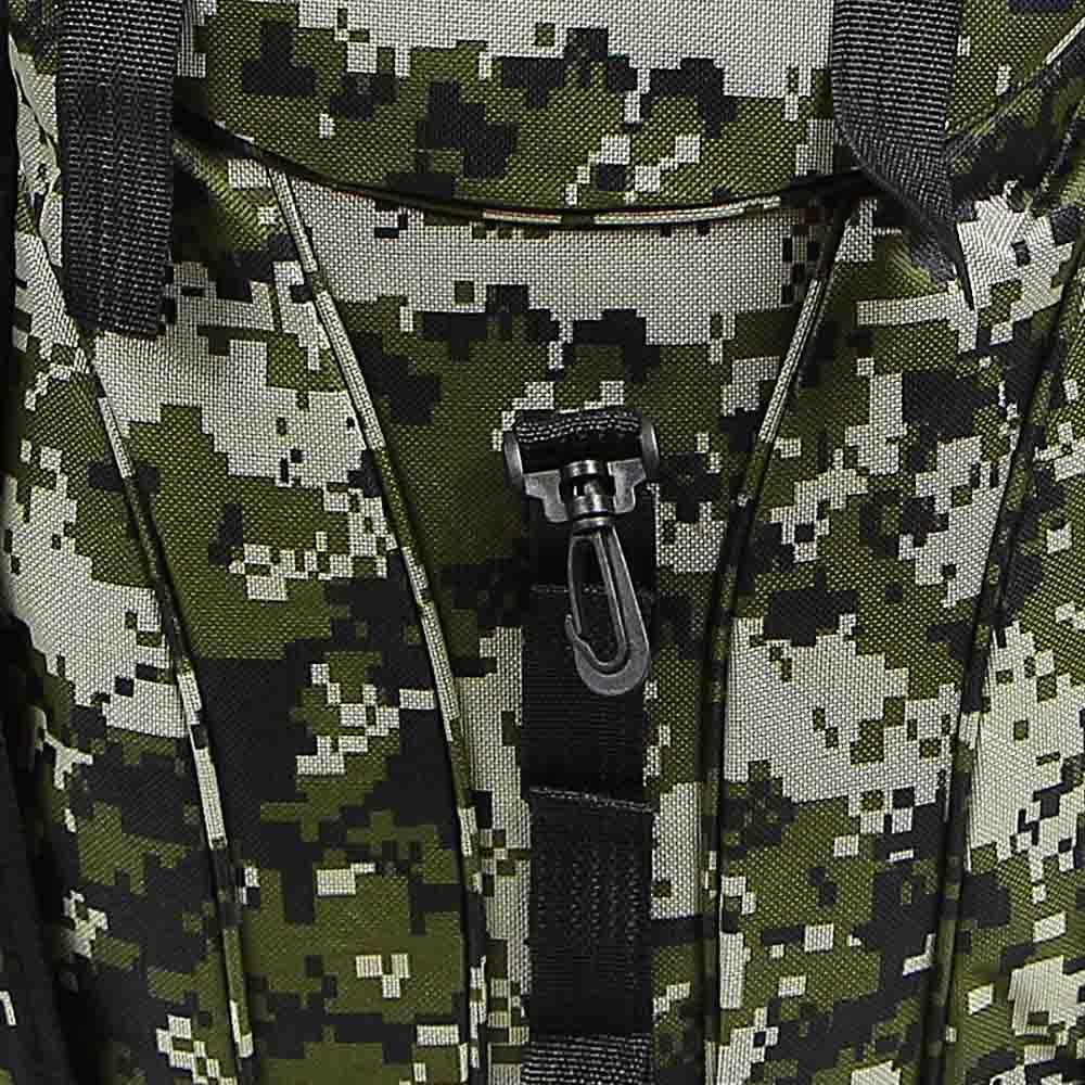Рюкзак туристический ЧИНГИСХАН отделение для палатки, 60 литров,70х35х18 см, полиэстер - 7